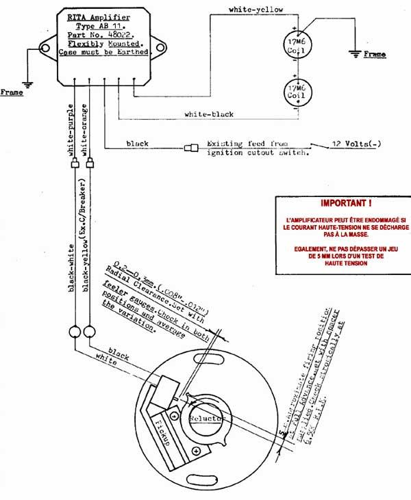 allumage electronique moto bmw
