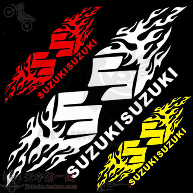 autocollant moto cross suzuki