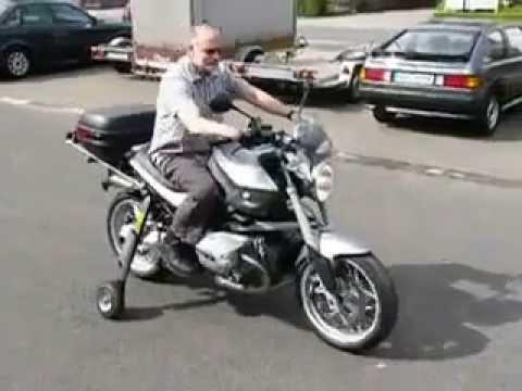 bequille moto en bois