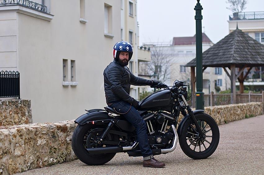 blouson moto test