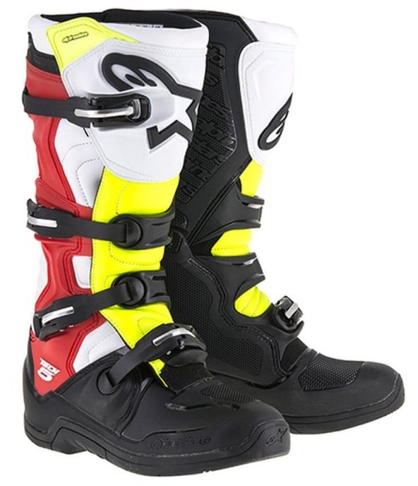 bottes moto jaune