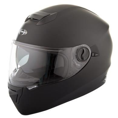 casque integral moto avec ecran solaire