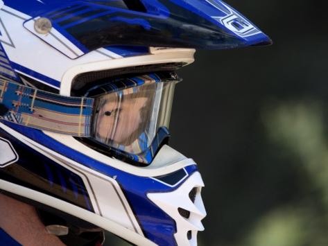 casque moto cross ado