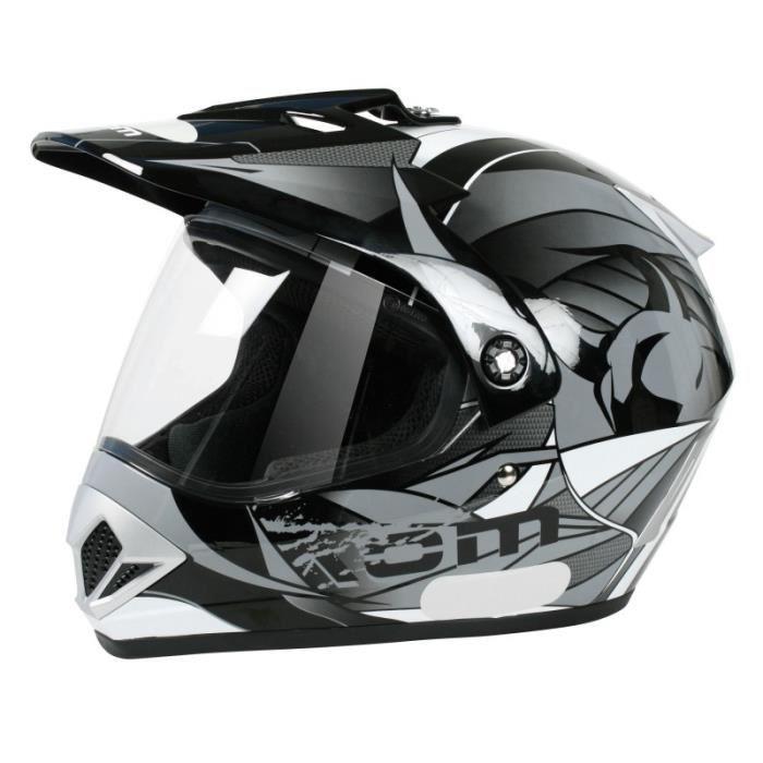 casque moto cross visiere pas cher