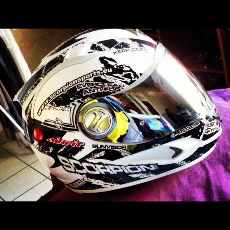 casque moto integral scorpion exo 1000 noir mat e11