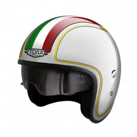 casque moto jet italien