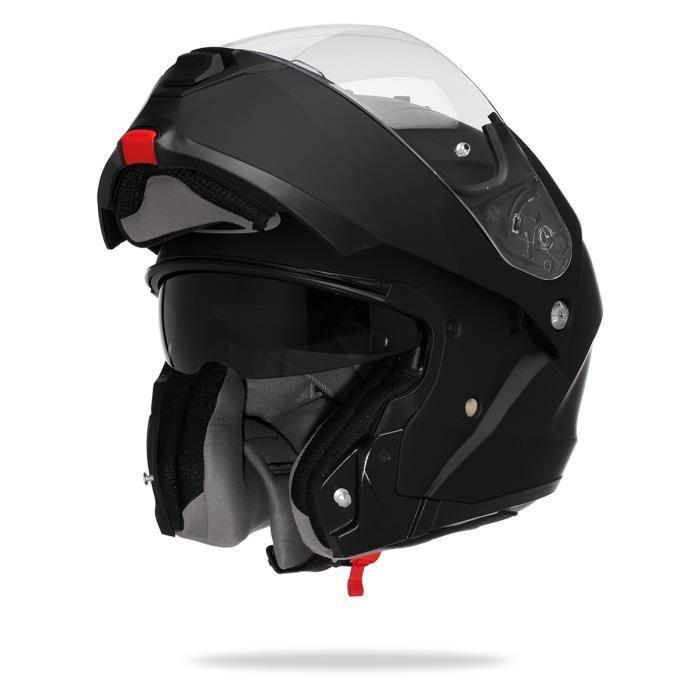 casque moto modulable en solde