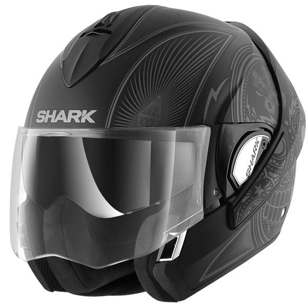 casque moto modulable shark evoline 3 hakka wkr