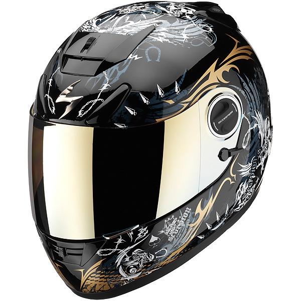 casque moto scorpion exo 750