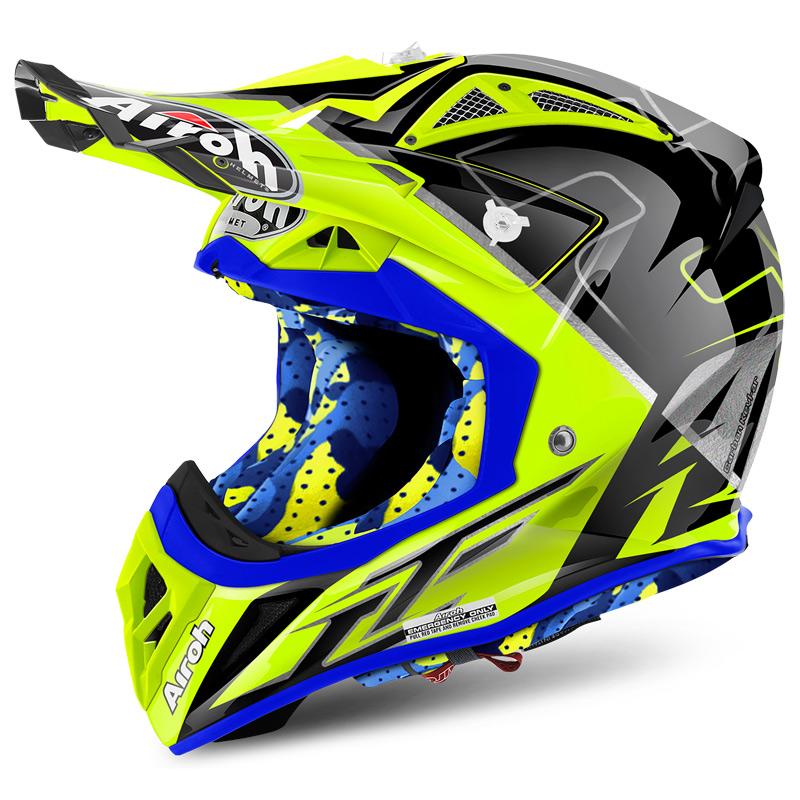 casque motocross airoh