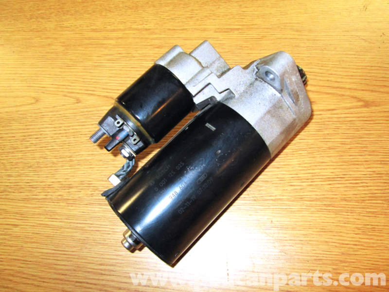cayenne s starter motor