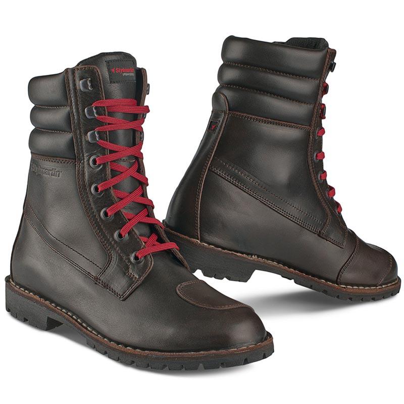 chaussures moto retro