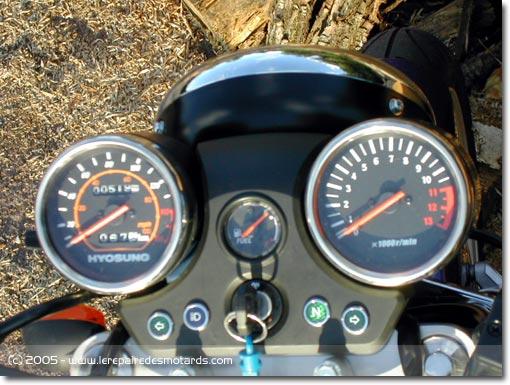 compteur moto roadster