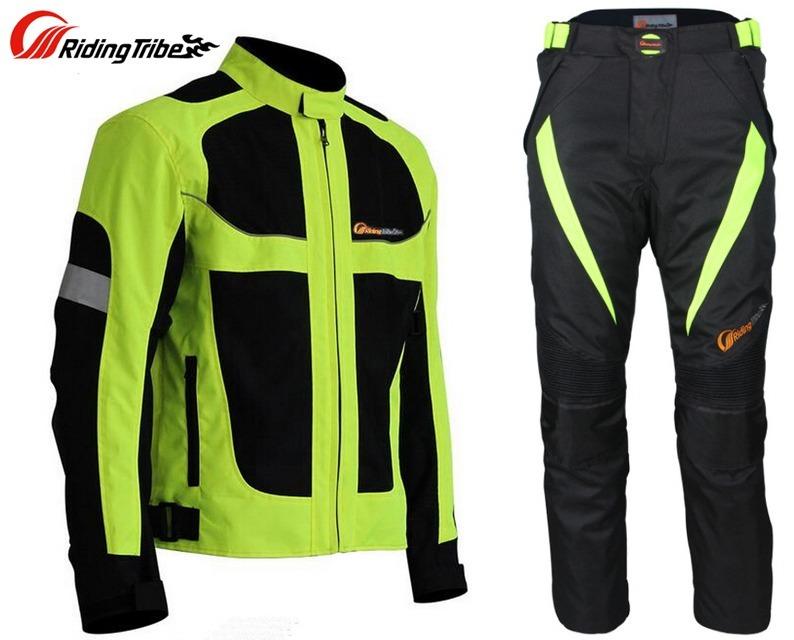 conjunto campera y pantalon moto