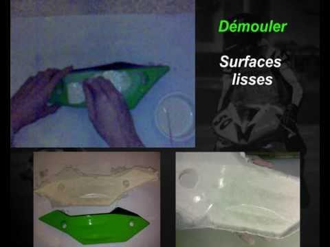 fabriquer carenage moto en de fibre de verre