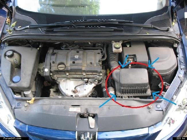 filtre a air 307 essence