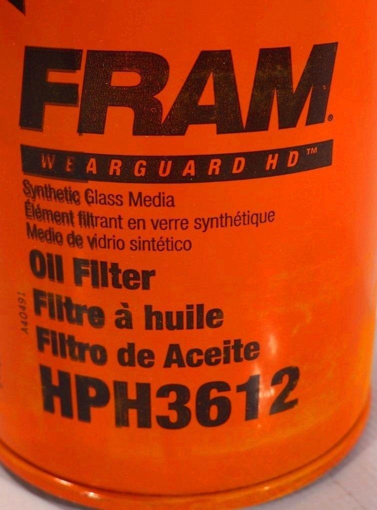 filtre a huile synthetique fram