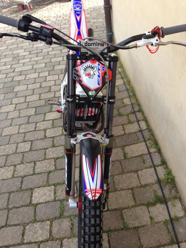 fourche moto trial tech