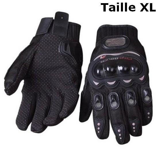gants moto xl