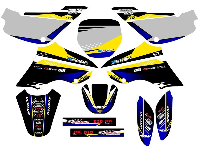 kit deco moto ebay