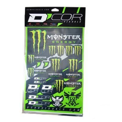 kit deco moto monster energy