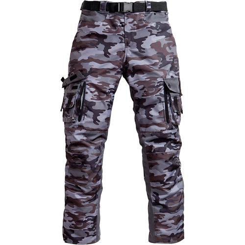 pantalon moto camouflage