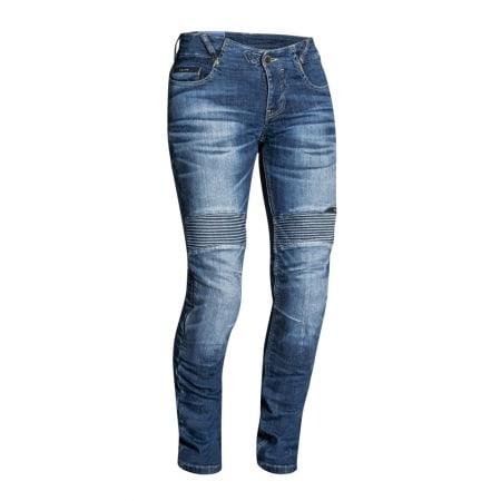 pantalon moto jean femme
