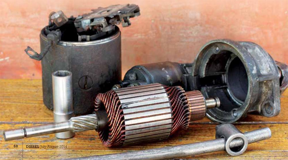 renault 5 starter motor problems