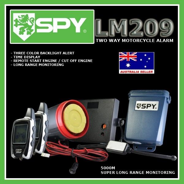spy moto alarm