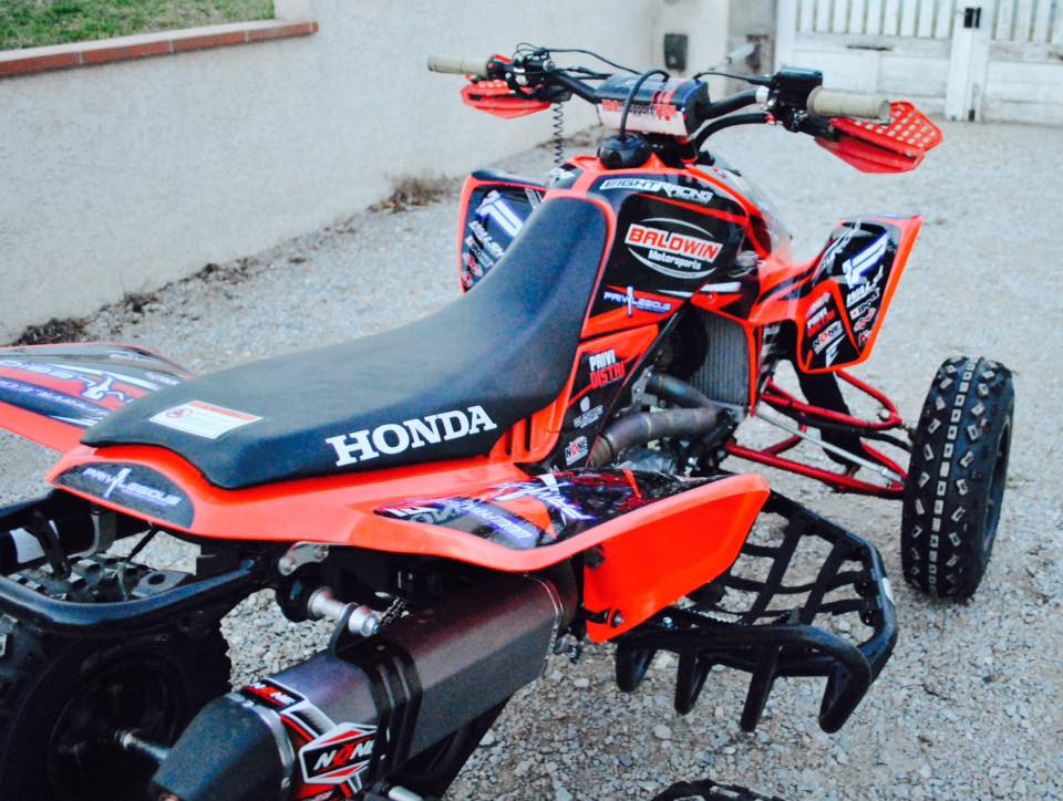 stickers moto quad