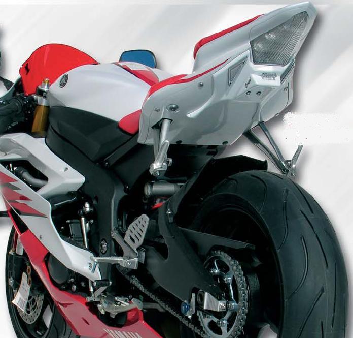 support de plaque moto yamaha r6