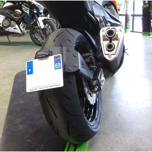 support plaque moto kawasaki z750