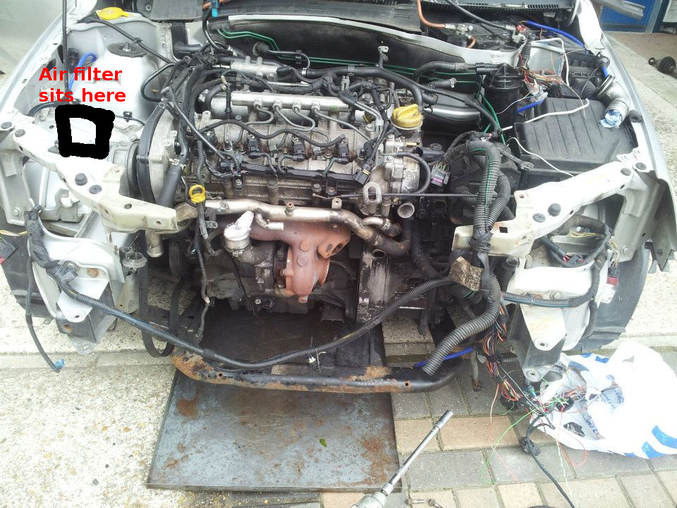 vectra c starter motor replacement