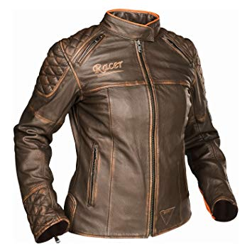 veste moto vintage femme